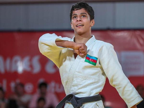 Azərbaycanın ən gənc olimpiya çempionu - Portret - FOTO