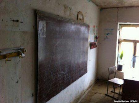 Lənkəranda 400 şagirdin təhsil aldığı məktəb qəzalı vəziyyətdədir - FOTO