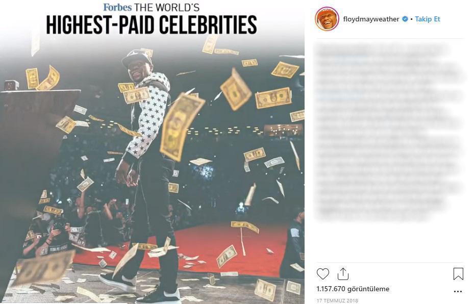 Dünyanın ən varlı idmançısının lüks həyatı: qızlar, 6500 dollarlıq alt paltarı... FOTO