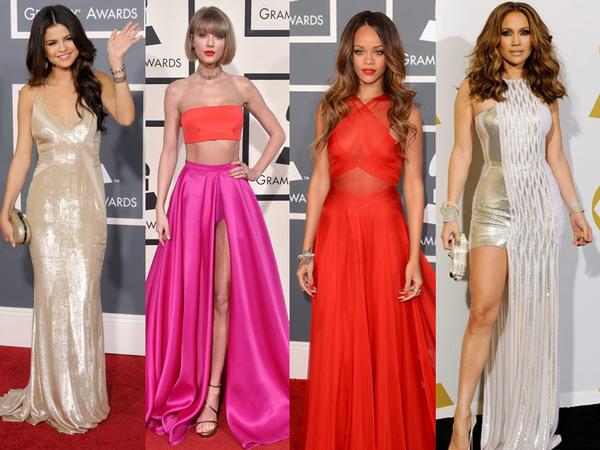 """Son 10 ildə """"Grammy""""dəki ən yaxşı geyimlər - FOTO"""