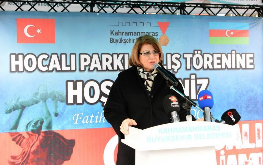 Türkiyədə Xocalı Parkının və Ana fəryadı abidəsinin açılışı olub - FOTO