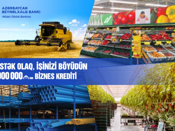 Azərbaycan Beynəlxalq Bankı kiçik və orta sahibkarlar üçün kredit şərtlərini asanlaşdırıb