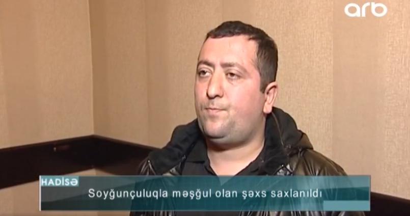 """""""Arxadan badalaq verdi yıxıldım"""" - Bakıda telefon oğrusu saxlanıldı - VİDEO - FOTO"""