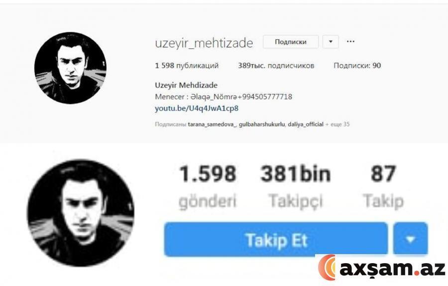 İnstaqramdan məşhurlarımıza zərbə - Röya və Şəbnəm 100 min itirdi