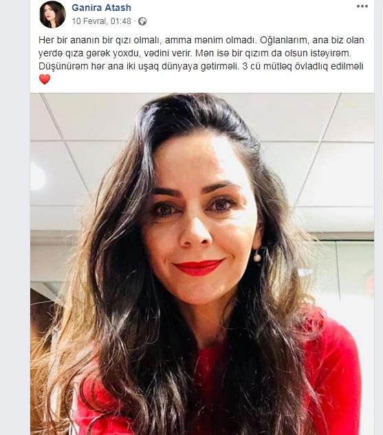 """""""ANS""""-in tanınmış aparıcısı övladlığa uşaq götürür - FOTO"""