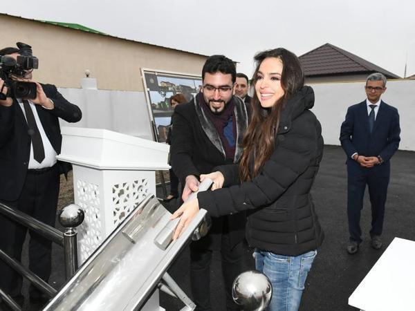 Heydər Əliyev Fondunun vitse-prezidenti Leyla Əliyeva Balaxanıda sahibsiz itlərə qayğı mərkəzinin açılışında iştirak edib - FOTO
