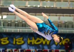 Batut gimnastikası yarışlarının kişilər və qadınlar arasında fərdi proqramda finalçıları müəyyən olub