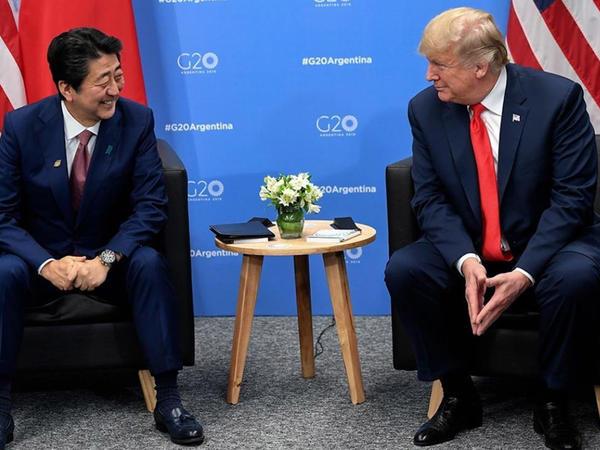 Abe Trampın Nobel sülh mükafatına namizədliyini irəli sürüb