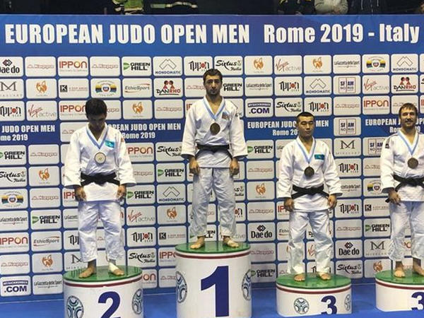 Cüdoçumuz Avropa kubokunda qızıl medal qazanıb - FOTO