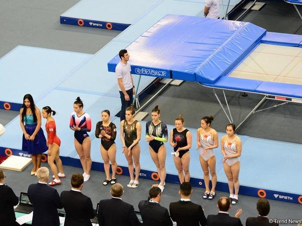 Bakıda batut gimnastikası və tamblinq üzrə Dünya Kubokunda ikinci yarış günü - FOTO