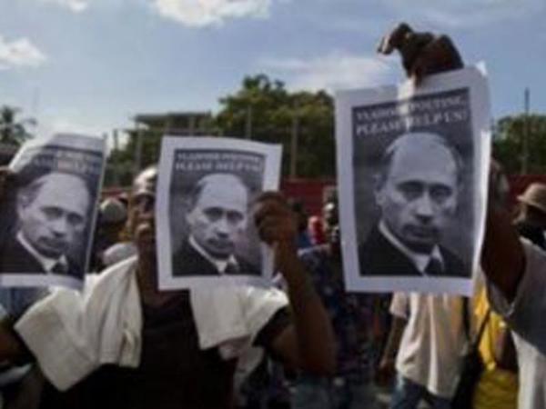 """Haiti qarışdı: """"Rədd olsun amerikalılar"""""""