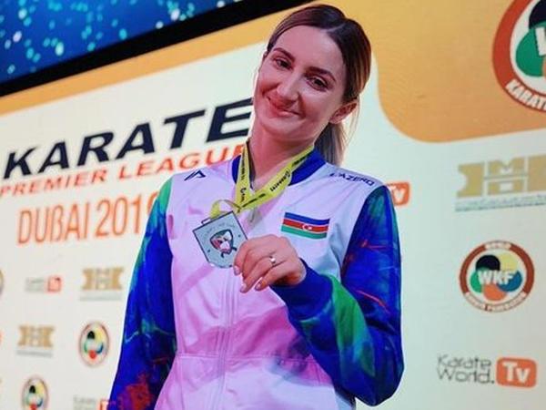 """Dünya çempionumuz Dubayda gümüş medalla <span class=""""color_red"""">kifayətləndi</span>"""