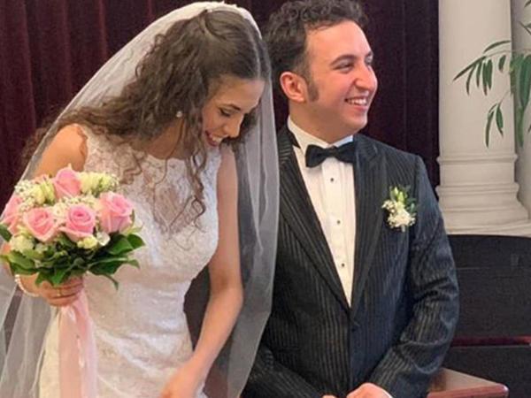 Azərbaycanlı musiqiçi əcnəbi qızla Vyanada ailə qurdu - FOTO