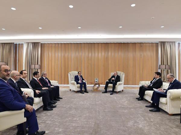 Prezident İlham Əliyevin Türkiyənin energetika və təbii sərvətlər naziri ilə görüşü olub - FOTO