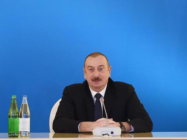 """Azərbaycan Prezidenti: """"Maraqların balansı Cənub Qaz Dəhlizi layihəsinin uğurunu şərtləndirir"""""""