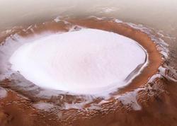 """Rusiyalı və avropalı alimlər <span class=""""color_red"""">Marsda böyük buz ehtiyatı aşkar ediblər</span>"""