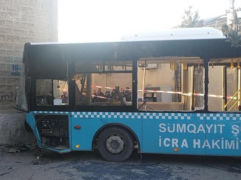 Sumqayıtda avtobus qəzasında yaralananların sayı 42-yə çatıb