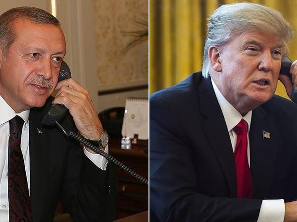 Türkiyə və ABŞ prezidentləri arasında telefon danışığı olub
