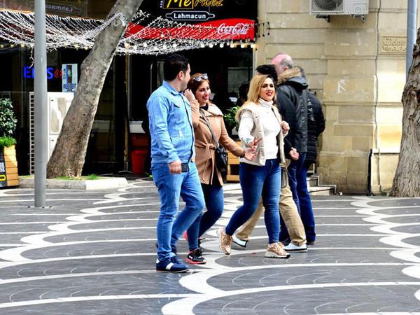 Azərbaycana gələn rusiyalı turistlərin sayı artıb
