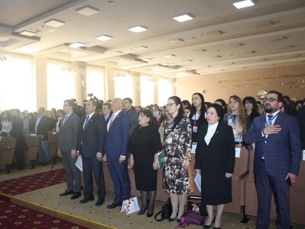 """""""Azərbaycan-Slavyan Gənclərinin I Forumu"""" öz işinə başlayıb - <span class=""""color_red"""">FOTO</span>"""
