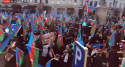 Avropadakı böyük Qarabağ mitinqi başlayıb - YENİLƏNİB - FOTO