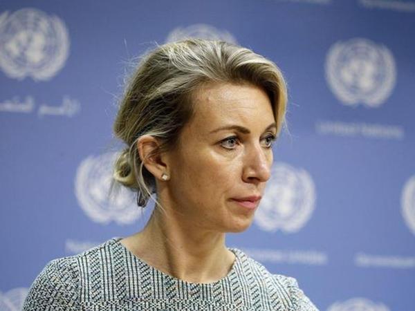 """Zaxarova azərbaycanlı jurnalistin sözünü kəsdi - <span class=""""color_red"""">VİDEO</span>"""