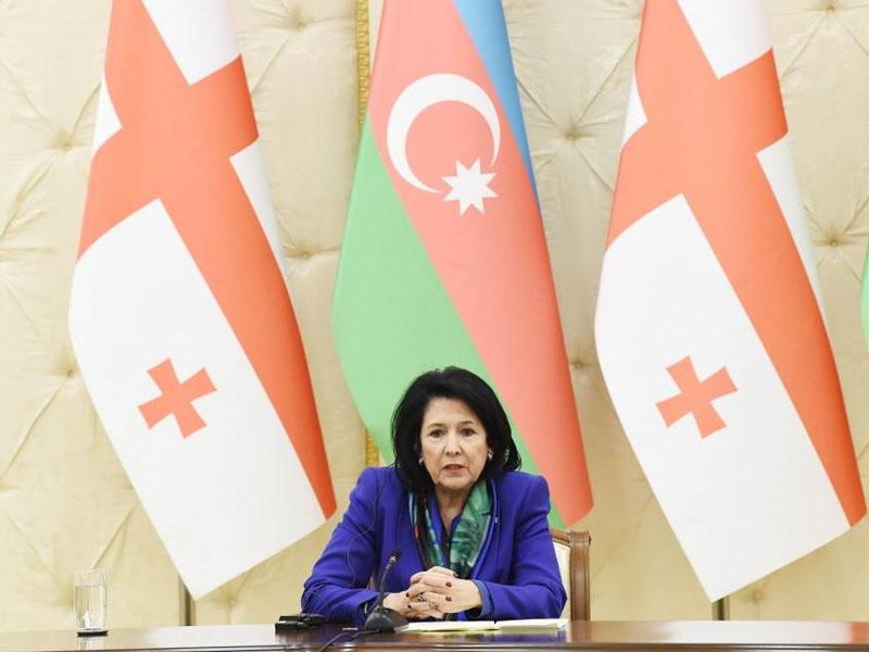Salome Zurabişvili: