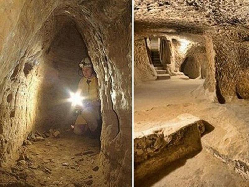 Şotlandiya və Türkiyəni birləşdirən qədim tunel aşkar edildi - ŞOK FOTOlar