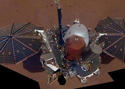 """""""InSight"""" zondu ilk dəfə Mars səthində qazma işi aparıb"""