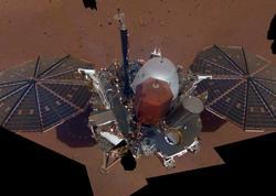 """""""InSight"""" zondu ilk dəfə Marsın səthini qazıb"""