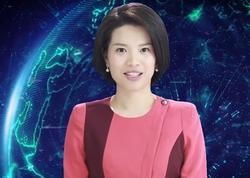 Dünyada ilk dəfə qadın robot aparıcı efirə çıxdı - VİDEO