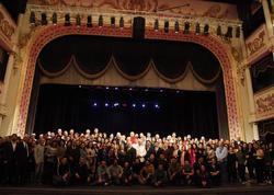 Dövlət Akademik Musiqili Teatrının kollektivi: Bu sərəncam Azərbaycan teatrlarına dövlət başçısının böyük töhfəsidir - FOTO