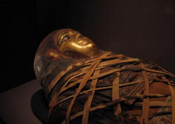 Qədim mumiya tapılıb