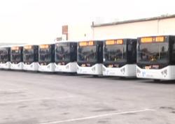 Avtobuslarda sürət məhdudlaşdırılacaq - VİDEO - FOTO