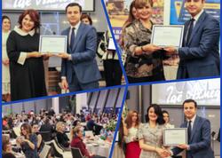 Azərbaycan Beynəlxalq Bankı qadın sahibkarları mükafatlandırdı