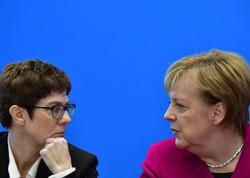 Berlinin mövqeyini Merkel yox, Anneqret açıqlayıb