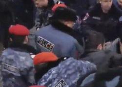 Yerevanda polis aksiya iştirakçılarına güc tətbiq etdi - VİDEO