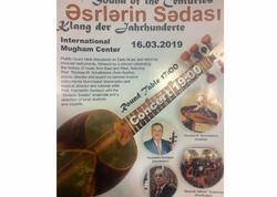 """Muğam Mərkəzində """"Orta əsr musiqisi və musiqi alətlərinin tarixi"""""""