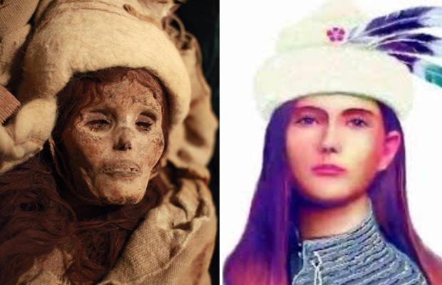 Yatmış gözəl mumiyasının sirri açıldı - Azərbaycandan Çinə gedən qadın imiş - FOTO