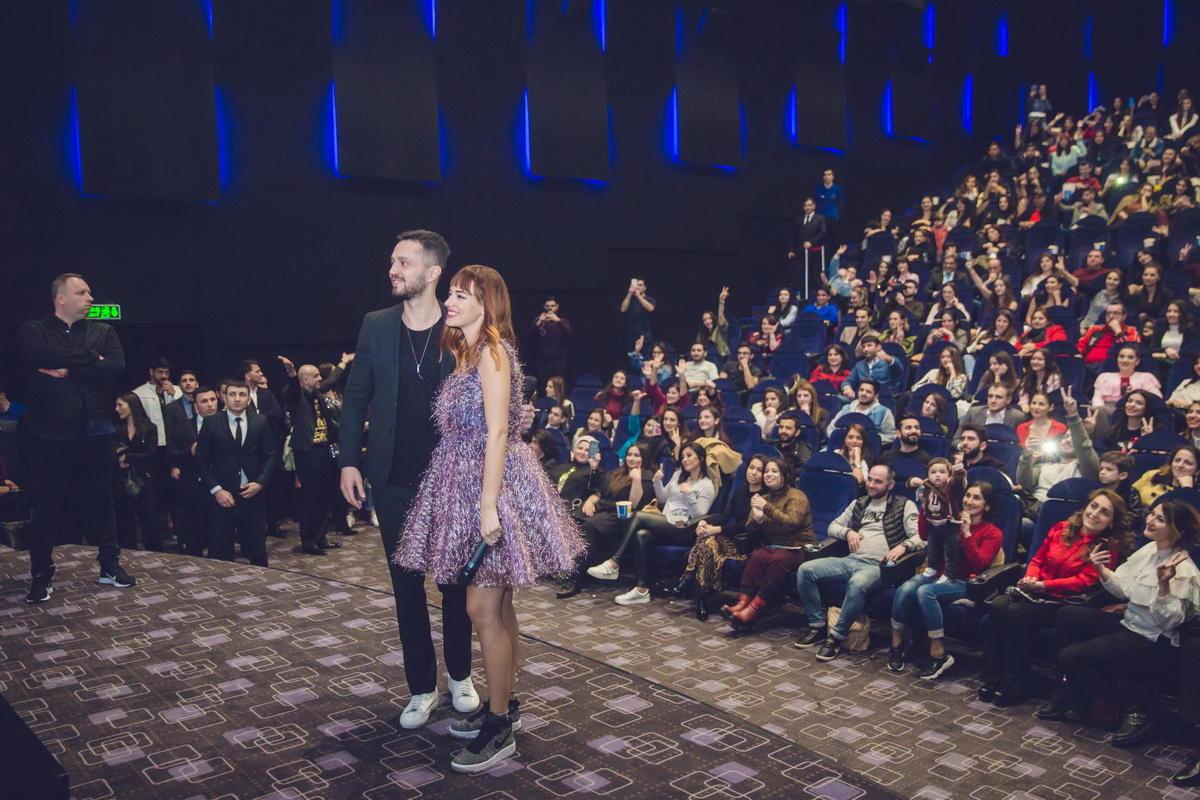 """Murat Boz və Seda Bakan """"CinemaPlus""""da - VİDEO - FOTO"""