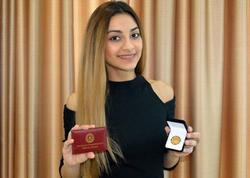 Tarixi oyunlarda Azərbaycana ilk medalı qazandıran xanım - Portret - FOTO