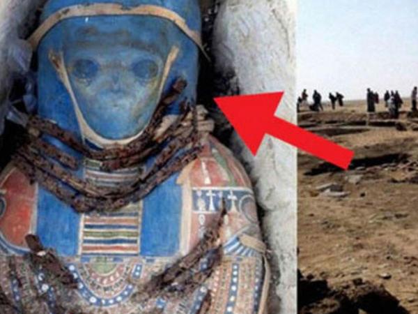 Misirdə humanoid mumiyası tapıldı