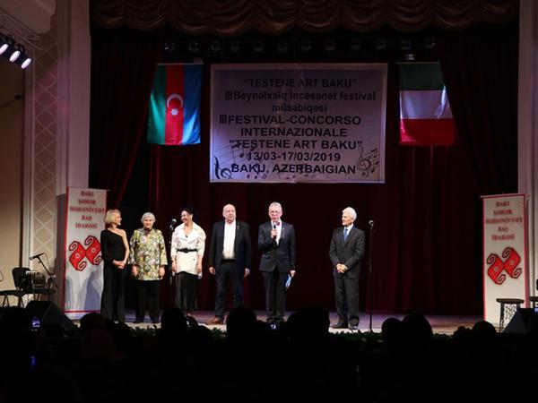 """""""Testene Art Baku"""" III Beynəlxalq İncəsənət festival-müsabiqənin Qala konserti keçirildi"""