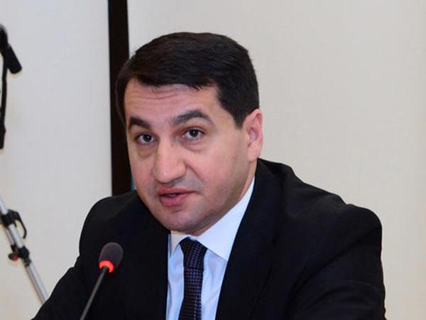 Hikmət Hacıyev Almaniya XİN-in Şərqi Avropa bölməsinin direktoru ilə görüşüb