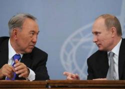 Nazarbayev istefasını Putinlə müzakirə edib