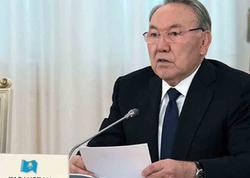 Nazarbayev istefa verdi