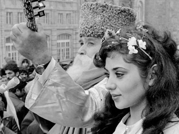 Bakıdan tarixi Novruz şəkilləri - FOTO