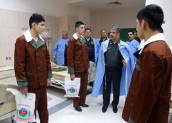 Zakir Həsənov hərbi hospitalda - FOTO