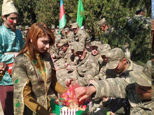 Hərbi hissələrdə Novruz bayramı tədbirləri keçirilib