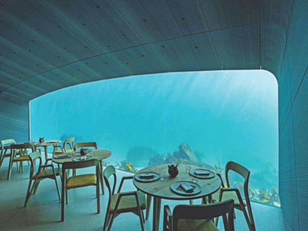 """Dünyanın ilk sualtı restoranı - <span class=""""color_red"""">FOTO</span>"""